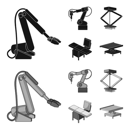 Automotive industry and other web icon in black,monochrome style.New technologies icons in set collection.