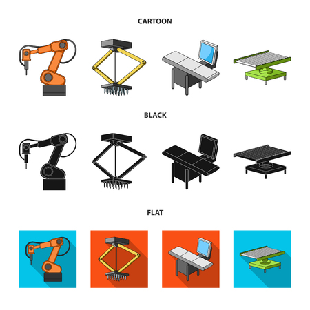 Automotive industry and other web icon in cartoon,black,flat style.New technologies icons in set collection.