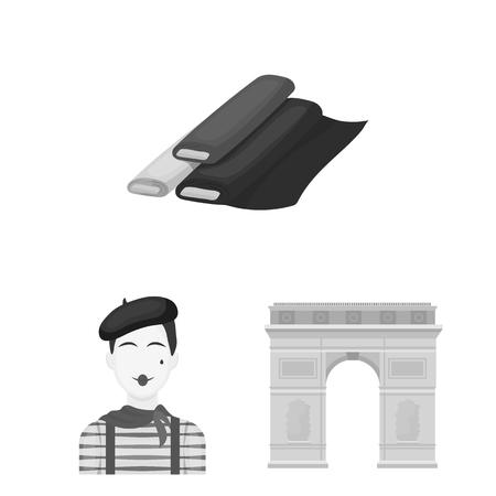 país monocromo iconos planos en serie de conjunto para el diseño. ilustración vectorial y la página web símbolo de la tienda de febrero .