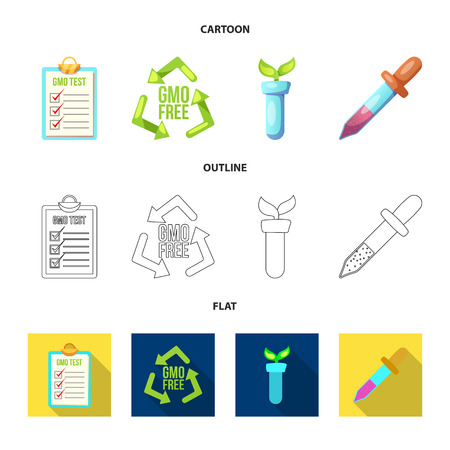 Vector illustration of and logo. Collection of and stock symbol for web.