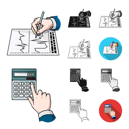 Money and Finance cartoon,black,flat,monochrome,outline icons in set collection for design. Business and Success bitmap symbol stock  illustration. 写真素材