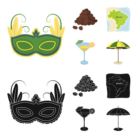 Dragee, roll, chocolate bar, ice cream. Chocolate desserts set collection icons in cartoon,black style bitmap symbol stock illustration web.