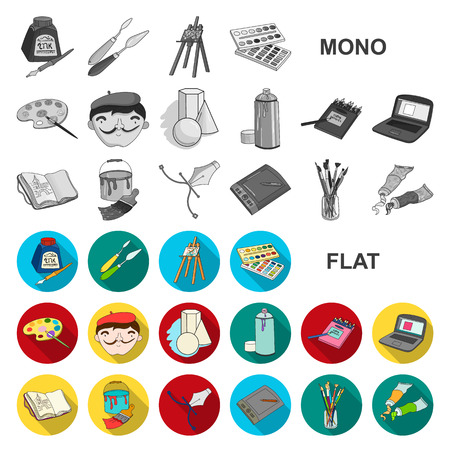 Board game flat icons in set collection for design. Game and entertainment vector symbol stock illustration.