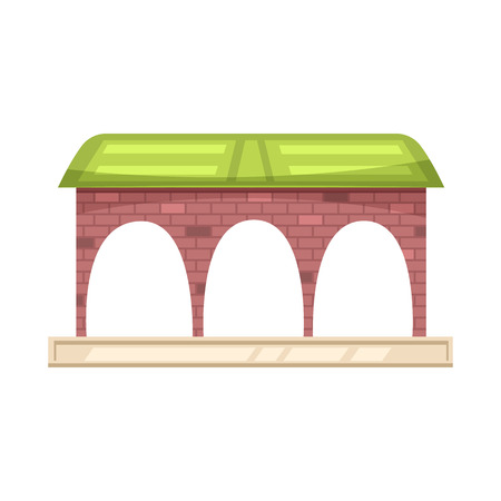 Vector design of train and station icon. Set of train and ticket vector icon for stock.