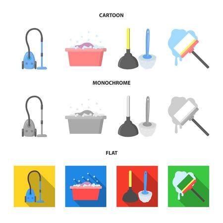 Equipment for cleaning bitmap symbol stock web illustration