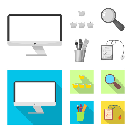 Vector design of education and learning . Set of education and school vector icon for stock. 向量圖像