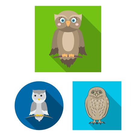 Vector illustration of animal and tattoo icon. Set of animal and wild stock vector illustration. Foto de archivo - 127141236