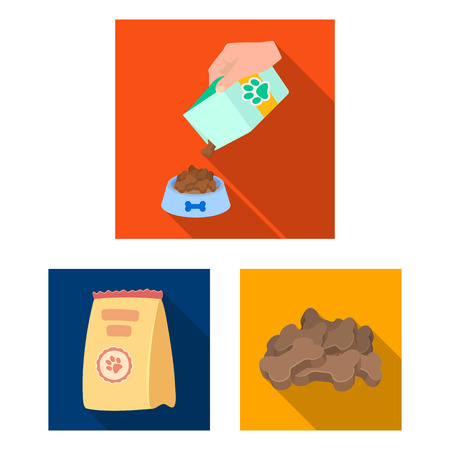 Vector illustration of food  and tin logo. Set of food  and bottle vector icon for stock.