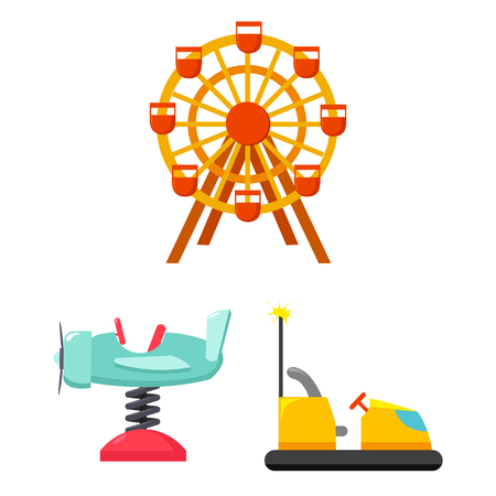 Vector illustration of fun and horse  sign. Collection of fun and circus stock symbol for web. Illustration