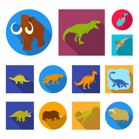 Vector illustration of animal and character sign. Collection of animal and ancient  vector icon for stock.