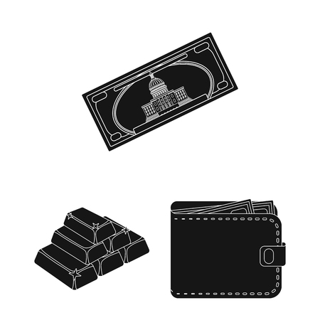 Isolated object of payment and loan icon.