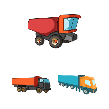 Vector design of truck and shipping sign.
