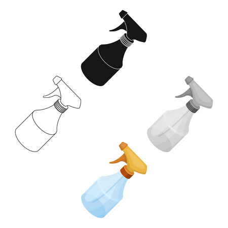 Spray.Barbershop single icon in cartoon style vector symbol stock illustration web.
