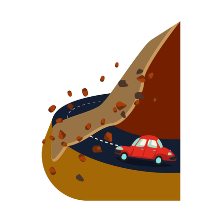 Isolated object of cataclysm and disaster sign. Set of cataclysm and apocalypse  stock symbol for web.