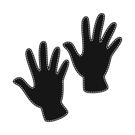 Vector illustration of warm and comfort logo. Collection of warm and style stock vector illustration. Çizim