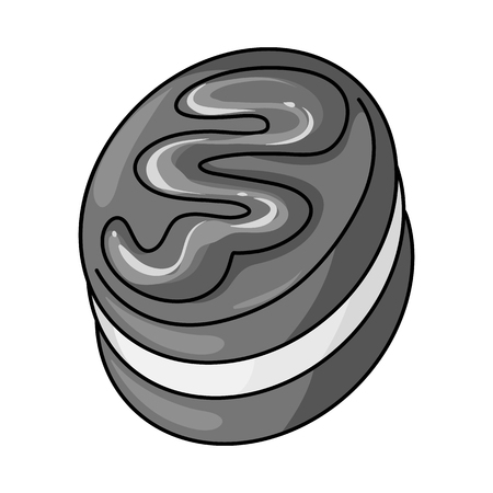 Vector design of sweet and caramel icon. Collection of sweet and culinary vector icon for stock. 일러스트