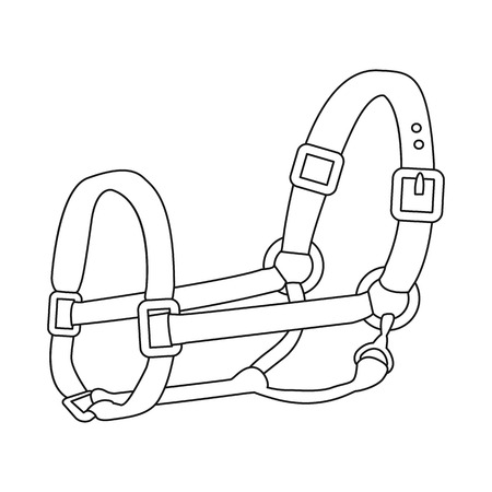 Red Race Harness