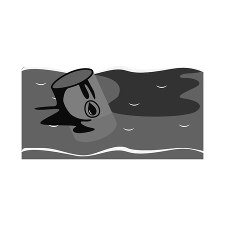 Isolated object of nature and apocalypse sign. Set of nature and environment stock vector illustration.