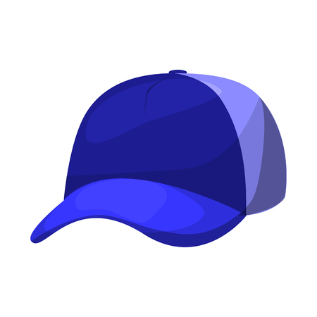 Isolated object of headgear and napper logo. Collection of headgear and helmet vector icon for stock.