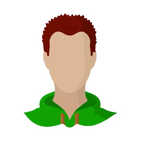 Objet isolé d'avatar et signe factice. Collection d'illustration vectorielle stock avatar et image. Vecteurs