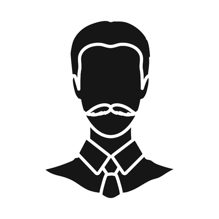 Vector design of avatar and dummy icon. Collection of avatar and image vector icon for stock.