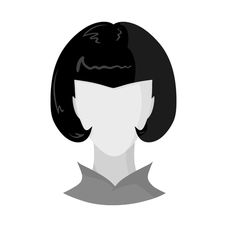 Isolated object of avatar and dummy symbol. Collection of avatar and image stock symbol for web.