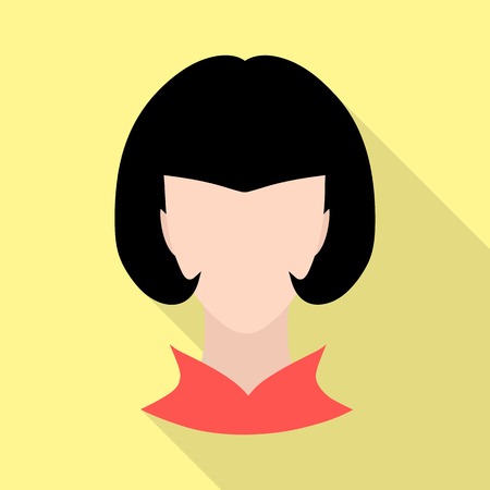 Isolated object of avatar and dummy symbol. Set of avatar and image stock symbol for web.