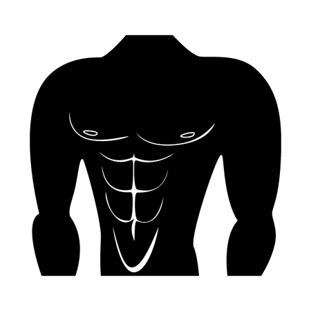 Vector design of muscle and cells sign. Collection of muscle and anatomy vector icon for stock. Illustration