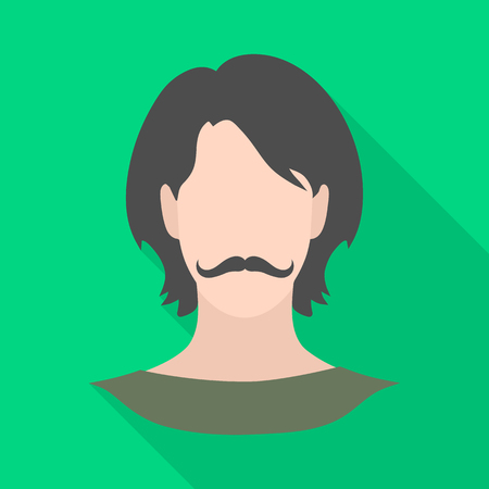 Vector design of avatar and dummy sign. Collection of avatar and image stock symbol for web. Vettoriali