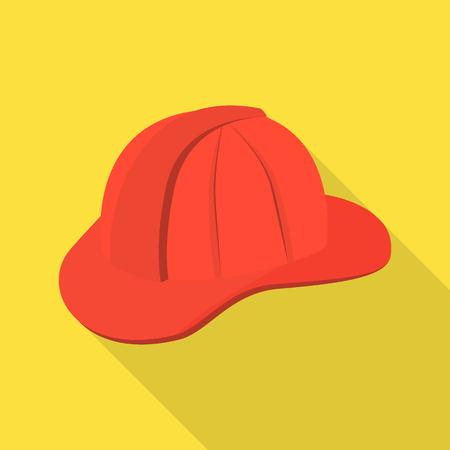 Vector design of headgear and napper symbol. Set of headgear and helmet stock vector illustration.
