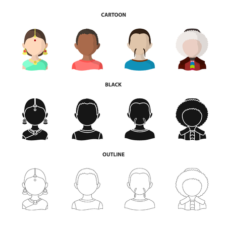 Vector illustration of imitator and resident icon. Collection of imitator and culture stock vector illustration.