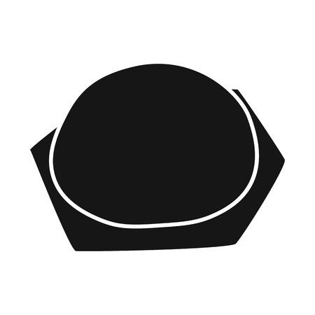 Vector illustration of pierogi and ravioli symbol. Set of pierogi and tortellini vector icon for stock.