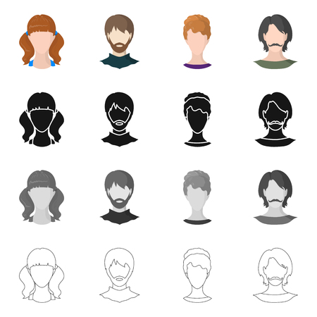 Conception de vecteur de logo professionnel et photo. Ensemble de symbole boursier professionnel et profil pour le web.