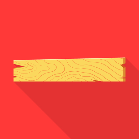 Vector illustration of board and old. Set of board and plywood  vector icon for stock.