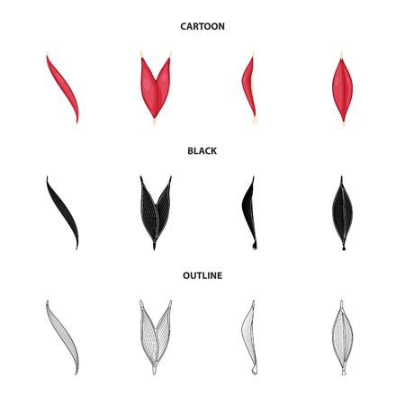 Vector illustration of fiber and muscular logo. Set of fiber and body  stock vector illustration.