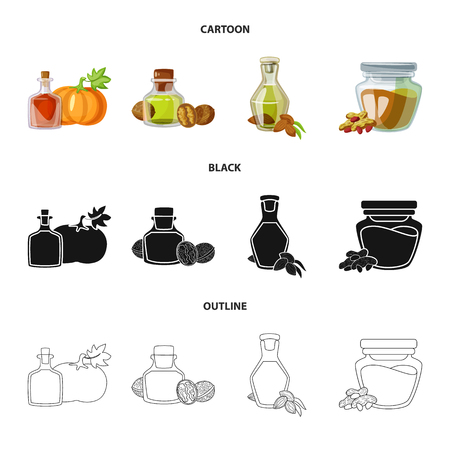 Isolated object of healthy  and vegetable  sign. Collection of healthy  and agriculture vector icon for stock.