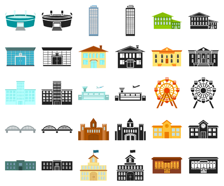 Building repair cartoon,black icons in set collection for design.Building material and tools vector symbol stock illustration.