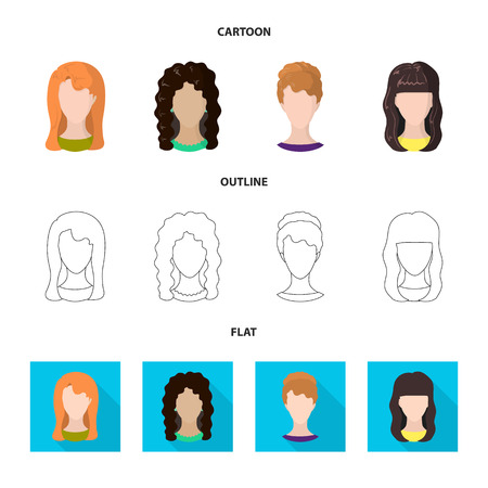 Isolated object of professional and photo symbol. Collection of professional and profile stock vector illustration.