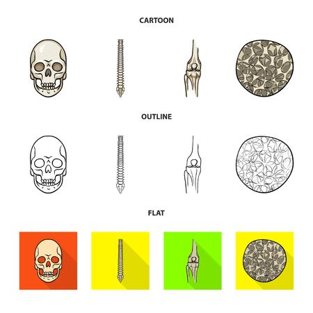 Vector design of medicine and clinic icon. Set of medicine and medical stock symbol for web. Stock Vector - 124966545