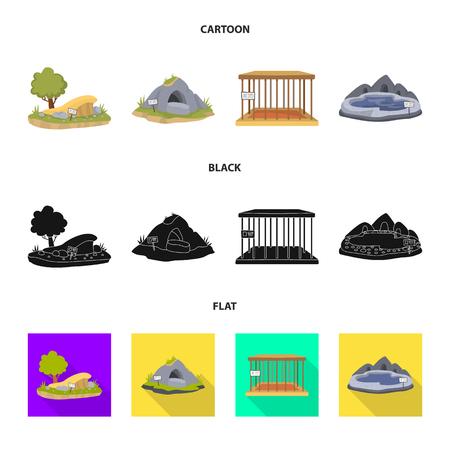 Conception vectorielle de la nature et du symbole amusant. Collection de symbole boursier nature et divertissement pour le web. Vecteurs