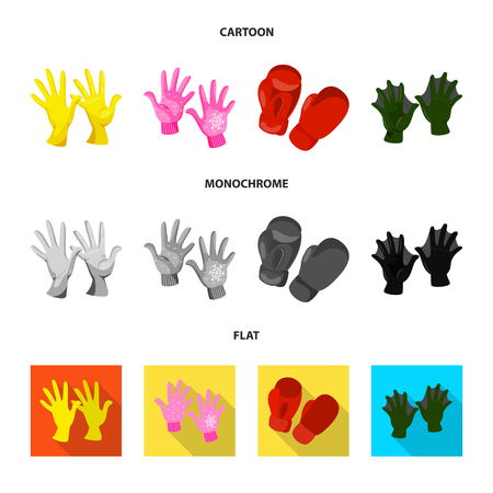 Vector design of silhouette and safety symbol. Collection of silhouette and comfort vector icon for stock. Illustration