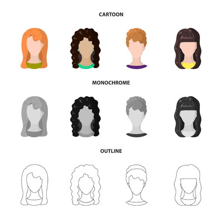 Vector design of professional and photo logo. Collection of professional and profile stock vector illustration. Çizim