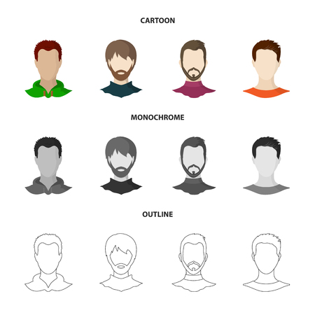 Isolated object of professional and photo icon. Set of professional and profile vector icon for stock. Çizim