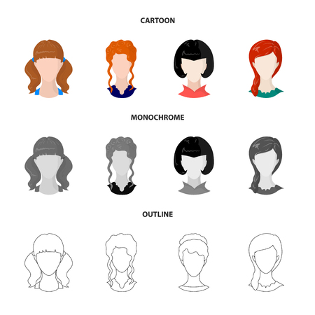 Vector illustration of professional and photo icon. Collection of professional and profile vector icon for stock.