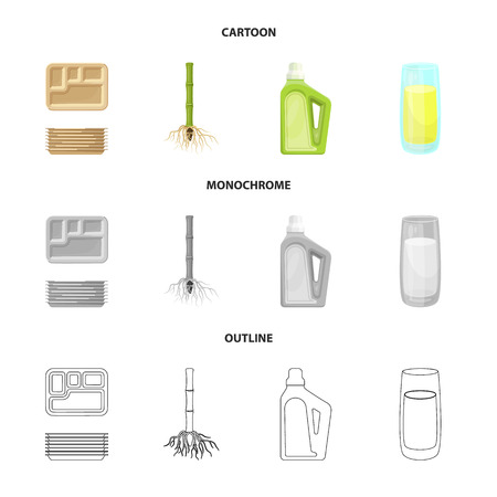 Isolated object of farm and agriculture  icon. Collection of farm and technology stock vector illustration.
