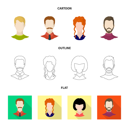 Vector design of professional and photo logo. Set of professional and profile vector icon for stock. Illustration