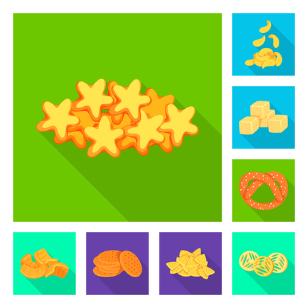 Isolated object of Oktoberfest and bar icon. Collection of Oktoberfest and cooking vector icon for stock. Ilustrace