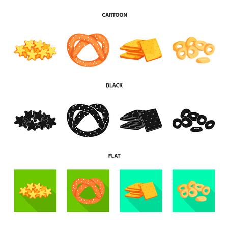 Isolated object of Oktoberfest and bar symbol. Set of Oktoberfest and cooking stock symbol for web. Ilustrace