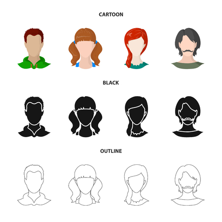 Isolated object of professional and photo symbol. Set of professional and profile vector icon for stock.