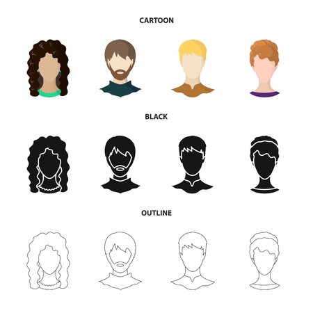 Isolated object of professional and photo symbol. Collection of professional and profile vector icon for stock.